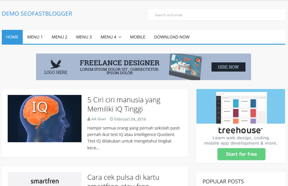 best paid blogger templates - seofastblogger high ctr responsive blogger template softdews