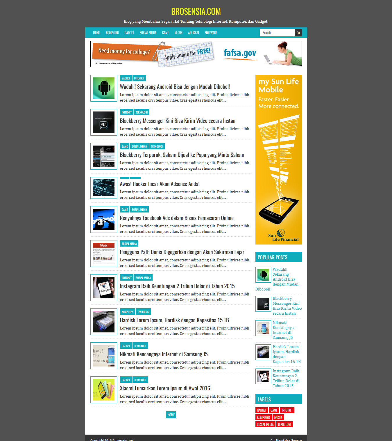 xml templates for blogger free download - brosensia high ctr responsive blogger template softdews
